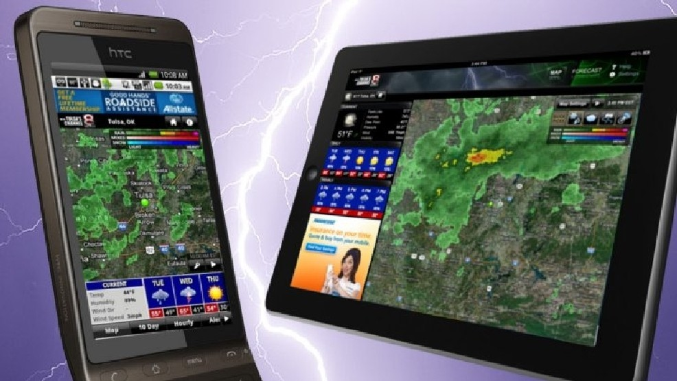 KTUL Weather App Available For iPhone, iPad, Android | KTUL
