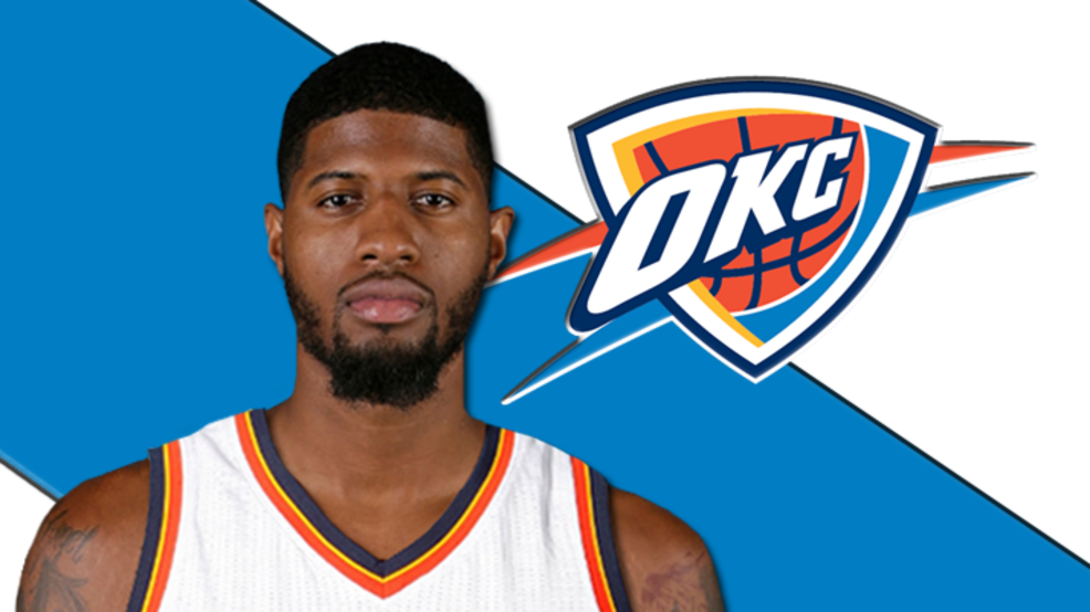 d1955dbc908f Paul George received glowing remarks about OKC... from Kevin Durant ...