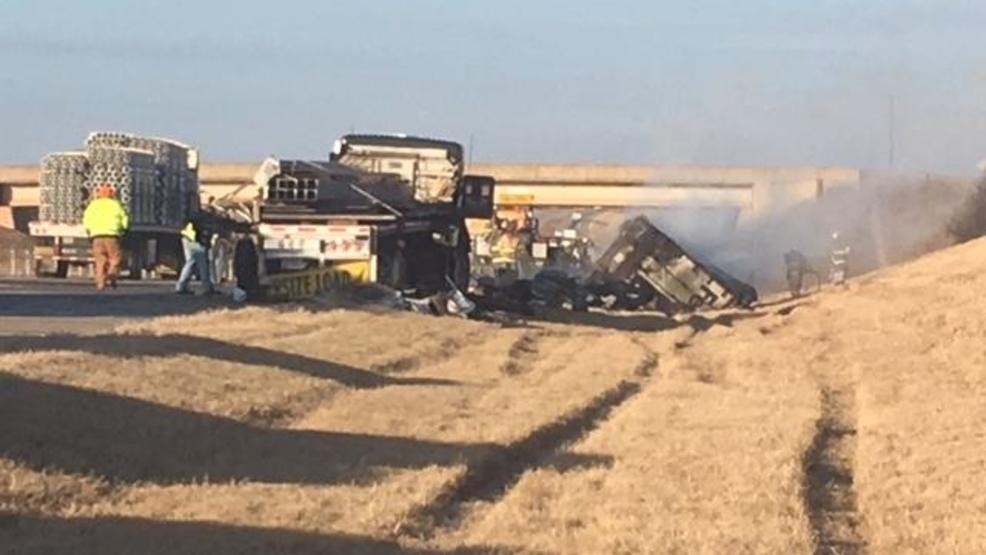 OHP: Man pulls driver from burning FedEx truck after crash