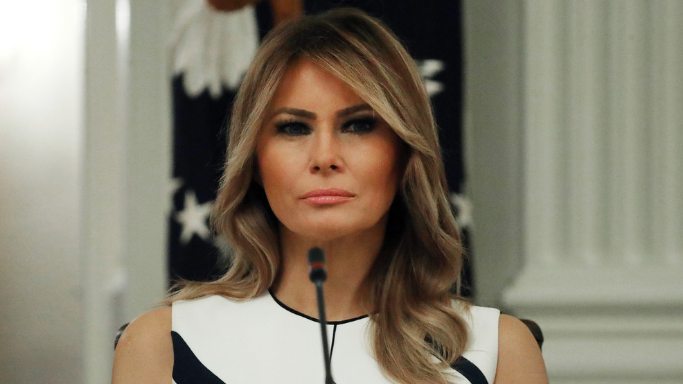 FIRST LADY TO REDECORATE GARDEN