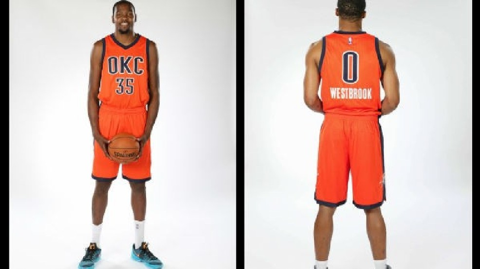 31b1e0a86 OKC Thunder Unveil New Uniforms