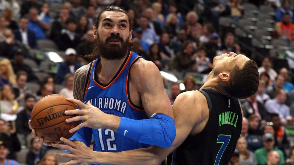 the latest d21fe 06323 Steven Adams on being named toughest player by NBA GMs ...