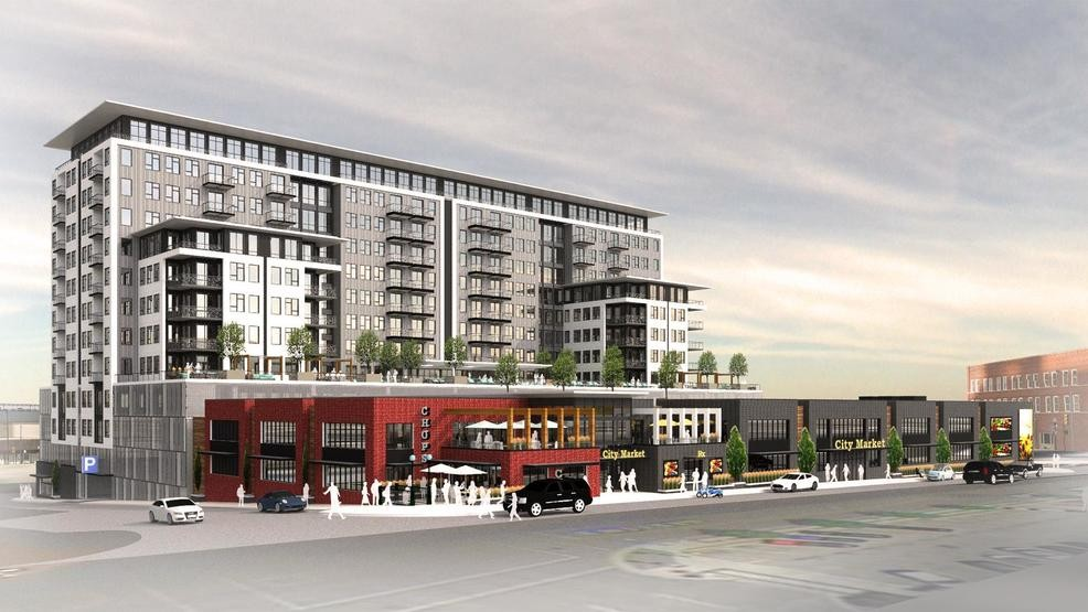 Retail S Apartments Coming To Downtown Tulsa With Of Pac Trust Parking Lot
