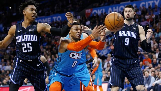 newest b8576 8491d VIEW ALL PHOTOS. Oklahoma City Thunder guard Russell Westbrook ...