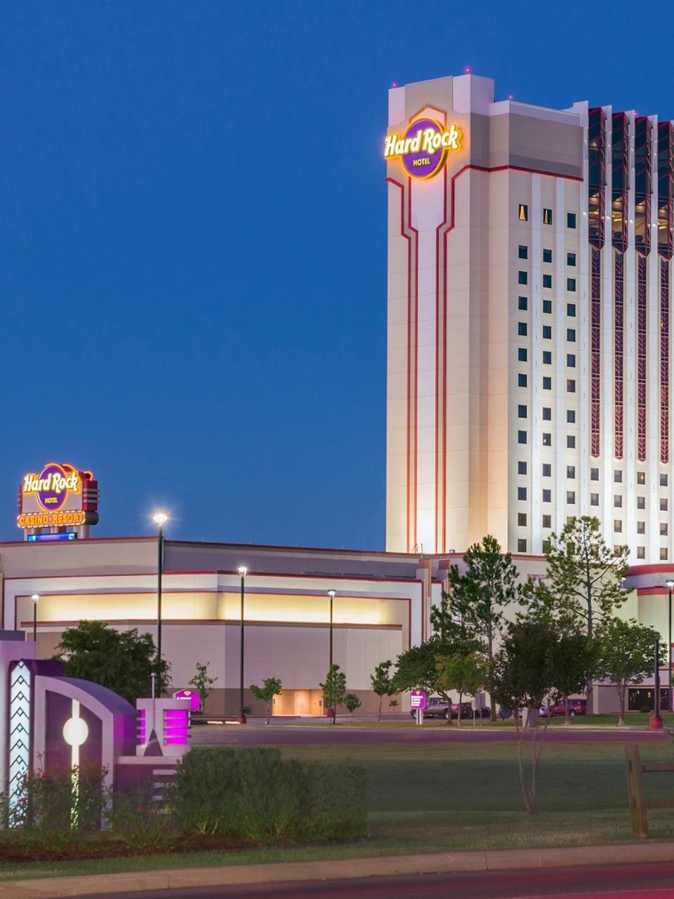 Hard rock hotel and casino oklahoma river cree casino corporate